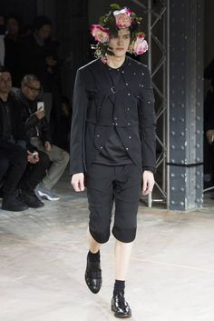 Male Fashion Trends: Comme des Garçons Homme Plus Fall/Winter 2016/17 - Paris Fashion Week