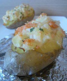 Des grosses pommes de terre fourrées à la Norvégienne...