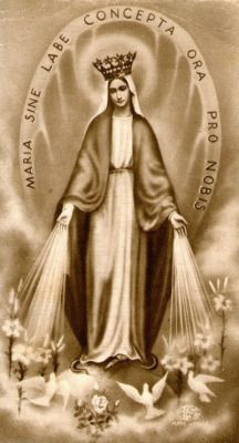Hail Mary full of grace. Jesus Christ Images, Religious Pictures, Holy Mary, Bible Prayers, Blessed Virgin Mary, Guardian Angels, Patron Saints, Blessed Mother, Mother Mary
