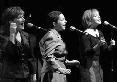 The Rankin Sisters, (from left to right) Cookie, Raylene and Heather, perform at the River Run Centre.  Photo by The Record Staff