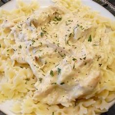My favorite slow cooker meal? Slow Cooker Chicken Stroganoff