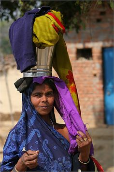 A head for business , India