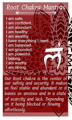 Your root chakra or money chakra can be damaged throughout life. Healing it with food, essential oils, mantras or crystals can be helpful to have in your en