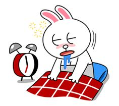 Cony's Happy Work Life - LINE Stickers