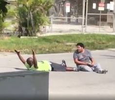 Police Shoot Unarmed Black Therapist For Taking Care Of His Autistic Patient — When Asked Why, Officer Responds 'I Don't Know' | PerezHilton.com