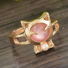 #meowAF, #Handmade, #Jewelry,  #CatJewelry,  #CatRing, #Cats,