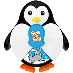 Amazon.com: Fisher Price See 'N Say Junior Surprise Penguin: Baby