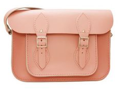'Juliet' Love Pink Leather Satchel from the Tom Brown 'Love Hearts' Range of Pr - Satchels - 'Love Hearts' Collection - Leather Satchel and Trunk Product Information Page