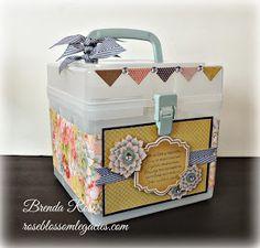 Rose Blossom Legacies: Card Box - February Class