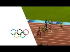 Usain Bolt Breaks 100m World Record In 9.69 Seconds - Beijing 2008 Olympics - YouTube