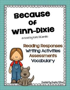 because of winn dixie essay questions The tools you need to write a quality essay or essays related to because of winn-dixie 1 rhys felt angry at this portrayal because bronte did not give.