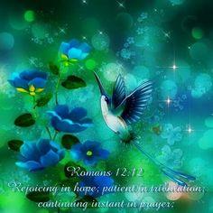 Romans 12:12 KJV