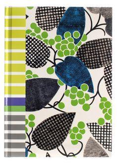 Designers Guild Barcelona Grass B5 Notebook on livingExclusive