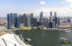 View from Marina Bay Sands Skypark @ Singapore ... - Mkhouse 2012