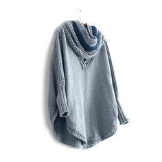 Knitting Pattern Circular Needles, Garter Stitch, Needles Sizes, Hemline, Cowl, Free Pattern, Knitting Patterns, Plus Size, Sweatshirts