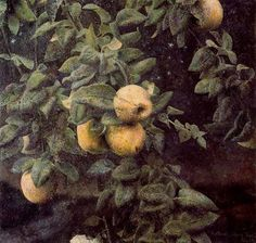 'The Quince Tree.' Painting by Antonio Lopez Garcia Antonio Garcia, Garcia Lopez, Spanish Art, Spanish Painters, Realism Art, Western Art, Les Oeuvres, Painting & Drawing, Modern Art