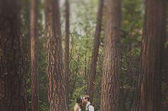 A Handmade Wedding in the Woods: Christine + Ian