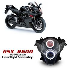 Suzuki GSX-R600 2006-2007 Motorcycle HID LED headlights http://www.ktmotorcycle.com/custom-headlights/suzuki-custom-headlights/suzuki-gsx-r600/suzuki-gsx-r600-2006-2007.html