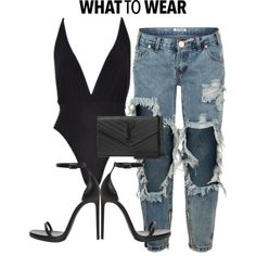 Details x online A fashion look from May 2016 by shopluxrb featuring One Teaspoon and Yves Saint Laurent Black Women Fashion, Look Fashion, Trendy Fashion, Womens Fashion, Fashion Trends, Fashion Ideas, Cute Casual Outfits, Chic Outfits, Fashion Outfits