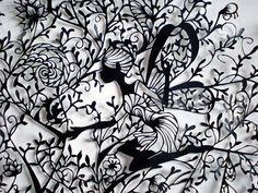 Papel chinês incrível corte de Arte