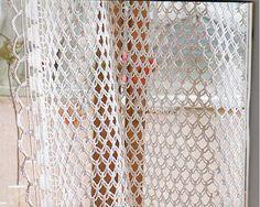 Crochet Curtain Pattern ~ free diagram