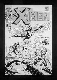 Steranko's first X-Men art