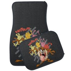 "Coloful ""Tantrum"" TAZ™ Car Floor Mat | Zazzle.com Car Mats, Car Floor Mats, Password Organizer, Looney Tunes Cartoons, Kids Tv Shows, Car Storage, Classic Cartoons, Cartoon Kids, Adjustable Shelving"