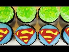Click here to vote from twitter: http://shortyawards.com/?category=food_name=rosannapansino    Thank you to those who have nominated me for the #food Shorty Award! ♥     Today I made Superman cupcakes! I really enjoy making nerdy themed goodies and decorating them. I'm not a pro, but I love baking as a hobby. Please let me know what kind of t...