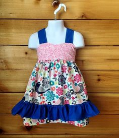 Birdie Apron Top by Chicklettes on Etsy
