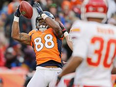 WK17 Can't-Miss Play : Thomas acrobatic TD catch - NFL Videos. Broncos vs. Chiefs 12/30/12