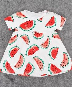 9f94475667a Stylish Watermelon or Pineapple Baby and Toddler Girl Dress  baby  babycute   babylove