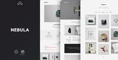 Nebula WordPress Theme - Let Your Work Stand Out - Creative WordPress