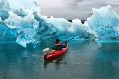Sea Kayaking at Tracy Arms-Ford Terror Wilderness // Juneau, AK