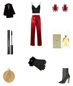 """Untitled #2044"" by fatmasuroor ❤ liked on Polyvore featuring Whiting & Davis, T By Alexander Wang, Helmut Lang, Jean-Paul Gaultier, adidas Originals, Oscar de la Renta, UGG and Vera Wang"