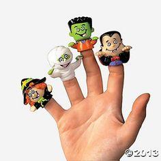 HALLOWEEN FINGER PUPPETS  #Halloween Inspiration from #Amazon | #Inspiration http://www.webdesign.org/halloween-inspiration-from-amazon.22346.html