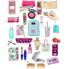 Back to School Essentials, I'm currently packing a bag of Middle School essentials for my locker at school Middle School Supplies, School Supplies Highschool, School Supplies Organization, Diy School Supplies, Backpack Organization, Instagram Baddie, I School, School Bags, School Stuff