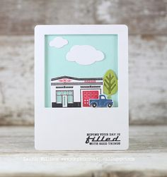 Day Filled With Good Things Card by Laurie Willison for Papertrey Ink (May 2015)