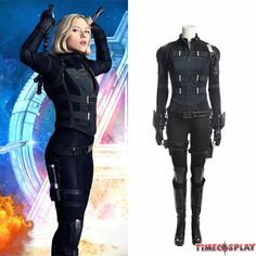 Black Widow avengers Infinity War Costume Natasha Romanoff Cosplay Costume Carnaval Halloween Costumes for Women Full Set Black Widow Cosplay, Black Widow Outfit, Diy Black Widow Costume, Black Widow Diy, Black Widow Marvel Costume, Natasha Romanoff, Black Widow Scarlett, Black Widow Natasha, Costume Halloween