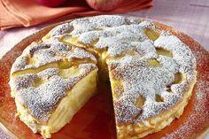 Gâteau flan aux pommes