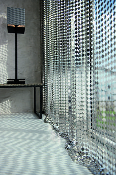 Fashion Metal Coil Drapery Mini Chain Link Curtain Buy