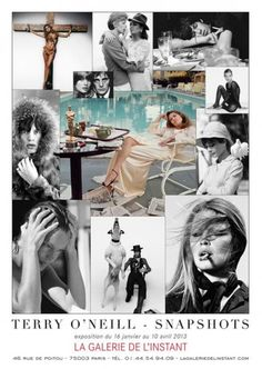 Terry O Neill, Image Makers, Expositions, Portrait, Movie Posters, Collage, Fictional Characters, Style, Art