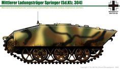 """Mittlere Ladungsträger """"Springer"""" Sd.Kfz.304"""