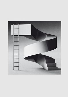 """Cover design by Timo Lenzen for """"Dream 3"""" by Max Richter for the charity project secret 7"""