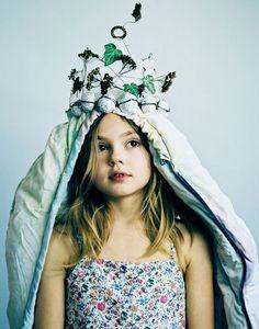 Delphine Chanet for Milk magazine