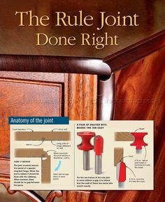 Rule Joint - Joinery