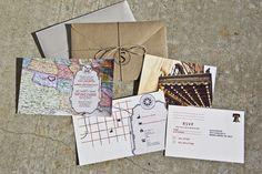 My Wedding Invitations by Alicia Scott, via Behance
