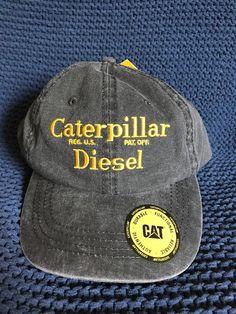 dfc1be7d0ac Vintage Caterpillar Diesel Hat - Cat Cap  fashion  clothing  shoes   accessories
