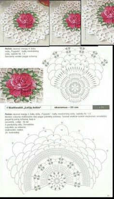 How to Crochet Wave Fan Edging Border Stitch Free Crochet Doily Patterns, Crochet Doily Diagram, Crochet Symbols, Crochet Motifs, Crochet Squares, Crochet Designs, Crochet Doilies, Crochet Flowers, Crochet Stitches