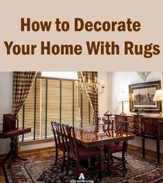 Do you use rugs at home? Rugs do make your home look beautiful if you use them the right way. Read the tips to decorate your home with rugs in a way that makes you feel good and happy. More at the blog. #AhaNOW #rugs #home #garden #decor #homedecor #decoration #house #carpets #guestpost #guestposting #guestpostservices #blog #blogging #bloggers Accent Colors, Bold Colors, Decorating Your Home, Interior Decorating, Creating A Vision Board, Advertise Your Business, All Themes, Decorate Your Room, Keep It Simple