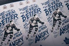 Toronto Maple Leafs - 2017 Season Ticket Package on Behance